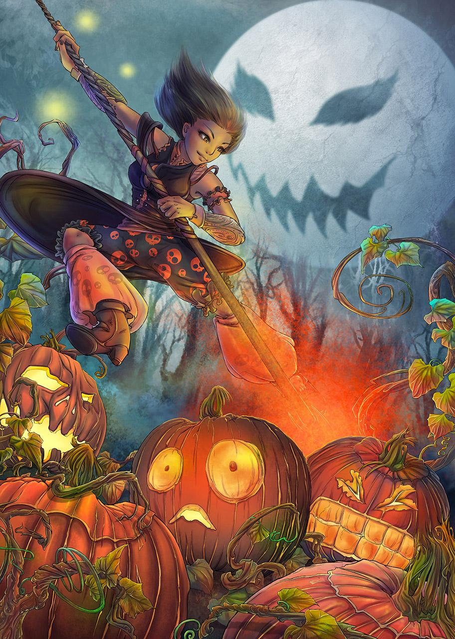 halloween manga noxice saisei