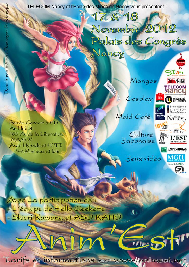 Convention manga Anim'Est 11 | animest 2012 | No-Xice©