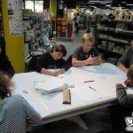 Atelier dessin manga Nantes Hélio par le fanzine No-Xice© Zwickee