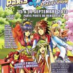 Convention Paris Manga 14 | PM septembre 2012 | Fanzine No-Xice© Nantes