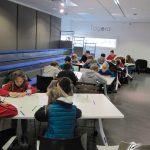 Atelier de dessin manga à la médiathèque Ormedo à Orvault en 2014, par No-Xice©
