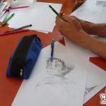 Atelier de dessin manga au festival Pouli'Folies au Pouliguen en 2010, par No-Xice©