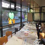 Atelier dessin manga au Loroux-Bottereau en 2014, prestation No-Xice