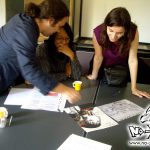 Atelier de dessin manga au festival Street Session au Pouliguen en 2009, par le fanzine No-Xice©
