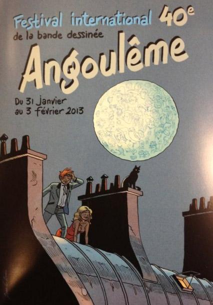 Festival de la BD d'Angoulême 2013, studio No-Xice©