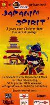 Convention manga Japanim Spirit 3 en 2004 à Nantes Hippodrome, équipe No-Xice©