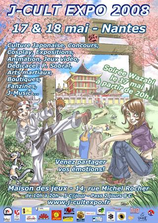 Convention manga cosplay J-Cult Expo 1 No-Xice© fanzine Nantes