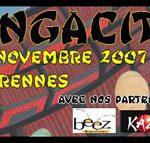 Convention Mangacity 3 à Rennes en 2007, stand No-Xice©