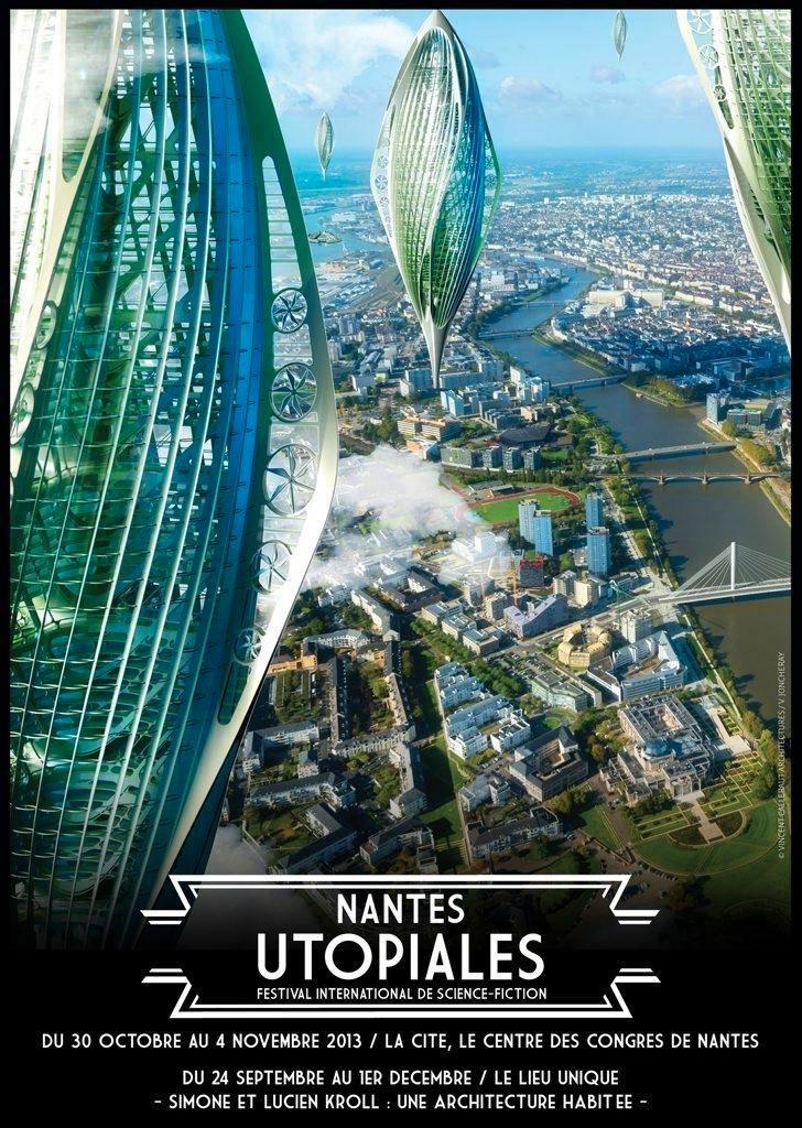 Les Utopiales 2013, festival science-fiction Nantes Cité des Congrès   No-Xice©
