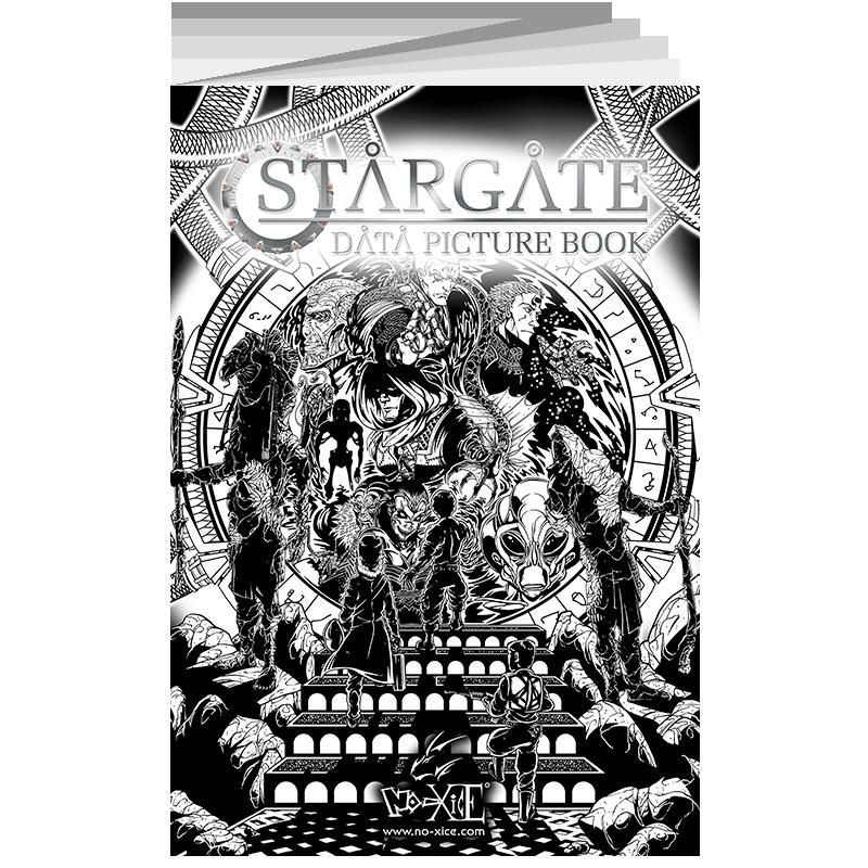 Stargate Data Picture Book No-Xice©